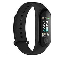M3 Smart Fitness Band Blood Pressure Heart Rate Monitor Fitness Tracker