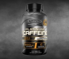Platinum 100% Caffeine 125 Tablets By MuscleTech