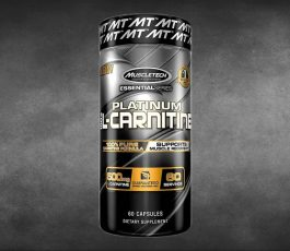 Platinum L-Carnitine 60 Capsules By MuscleTech