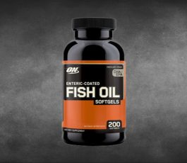 Fish Oil 200 Soft Gels By Optimum Nutrition