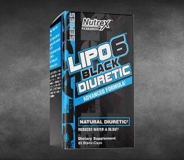 Lipo-6 Black Diuretic 80 Black Caps By Nutrex Research