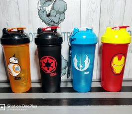 Animated Logo 600ml Shaker Bottle