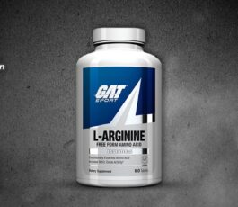 L-Arginine 180 Tablets By Gat Sport