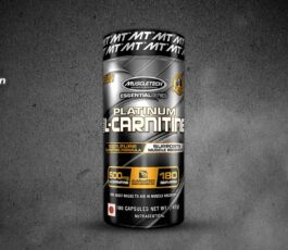 Platinum L-Carnitine 180 Capsules By MuscleTech