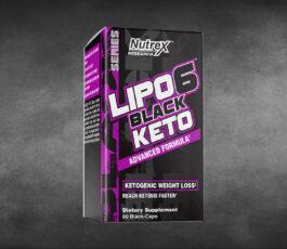 Lipo-6 Black Keto 60 Black Caps By Nutrex Research